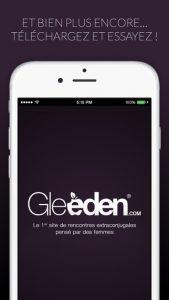 Application Gleeden 5