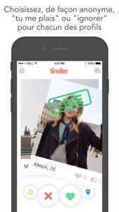 Application Tinder 2